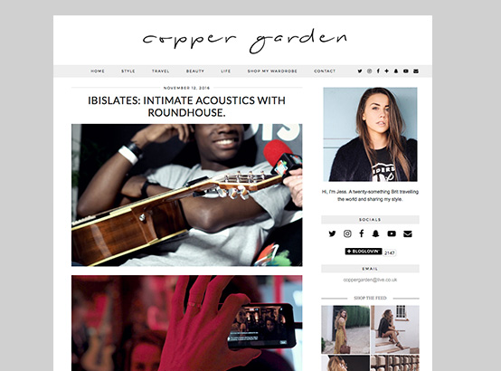 IbisLates blog content written by Copper Garden